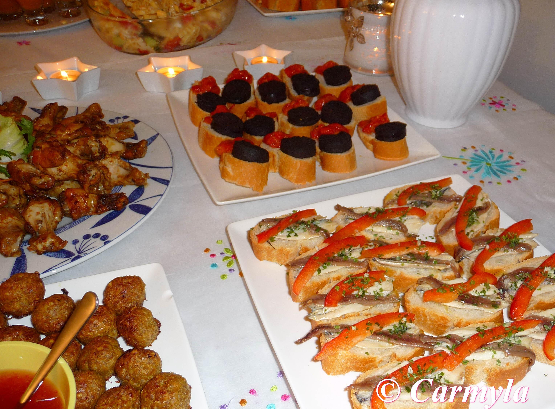Buffet para cumplea os imagui for Tapas frias para fiestas
