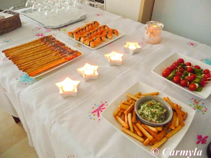 Mini buffet brindis cumplea os buffet cumplea os ii - Menu para un cumpleanos en casa ...