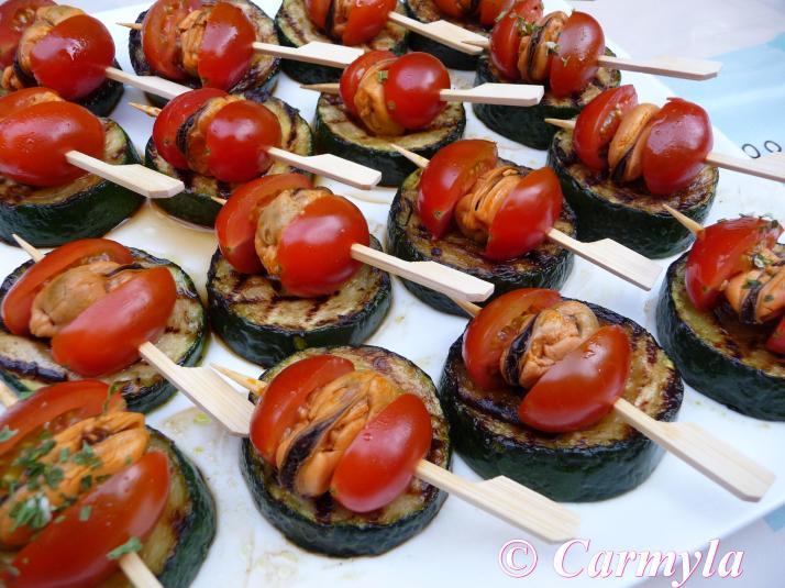 Mejillones en escabeche carmyla for Tapas frias para fiestas