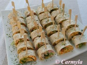 PLATO ROLLITOS BUFFET