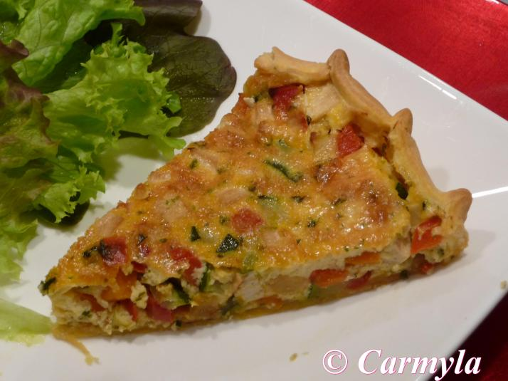 QUICHE VEGETARIANA 2