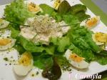 ENSALADA NÓRDICA con huevo