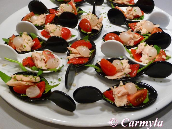 CUCHARITA DE ENSALADA DE BONITO buffet 1