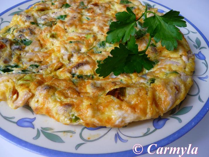 TORTILLA DE ANCHOAS entera
