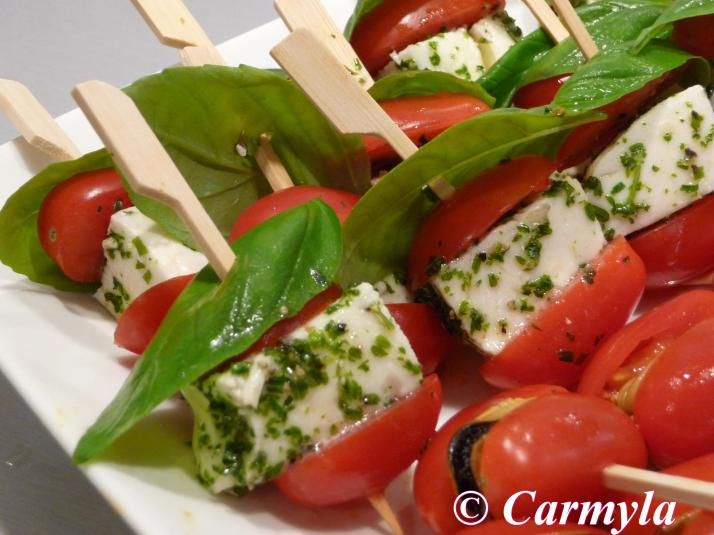 pinchos tomate cherry