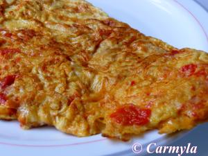 TORTILLA DE CHILINDRONES entera