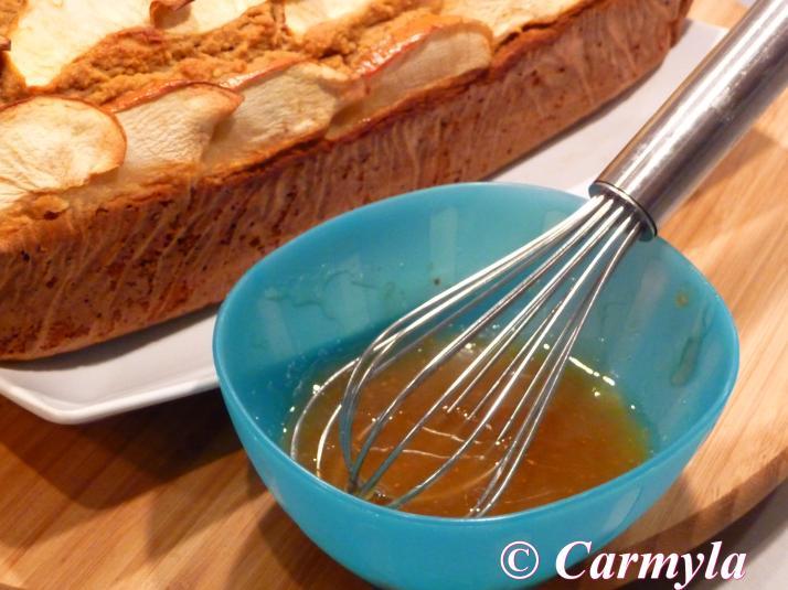CAKE DE MANZANA SIN prep 2