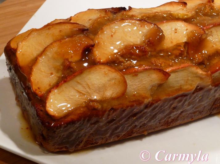 CAKE DE MANZANA SIN prep 3