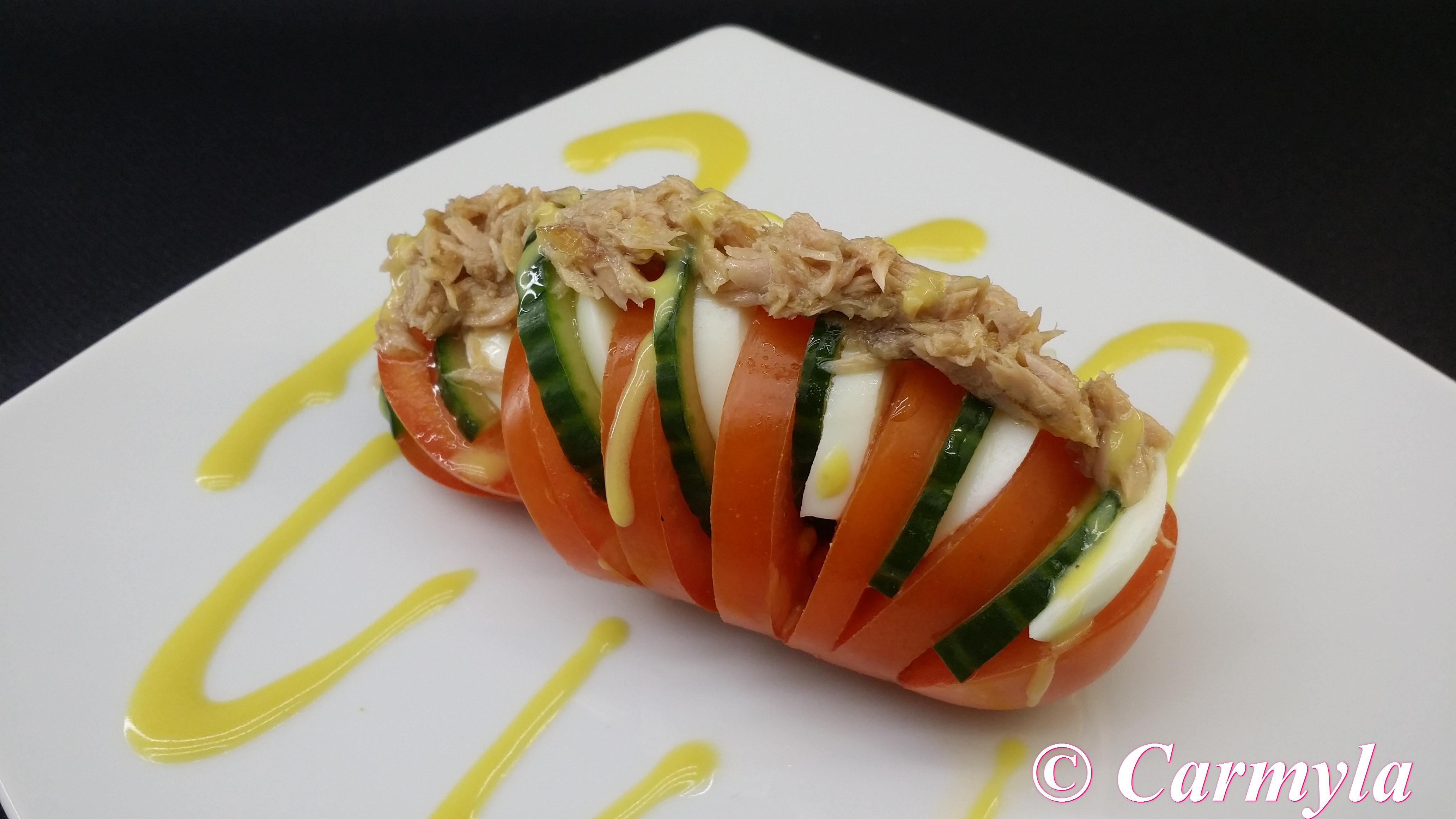 Acorde n de ensalada de ventresca carmyla - Tapas frias originales ...