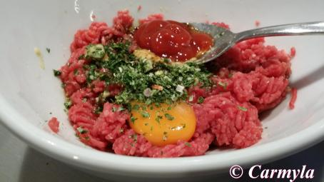 STEAK TARTAR prep 1